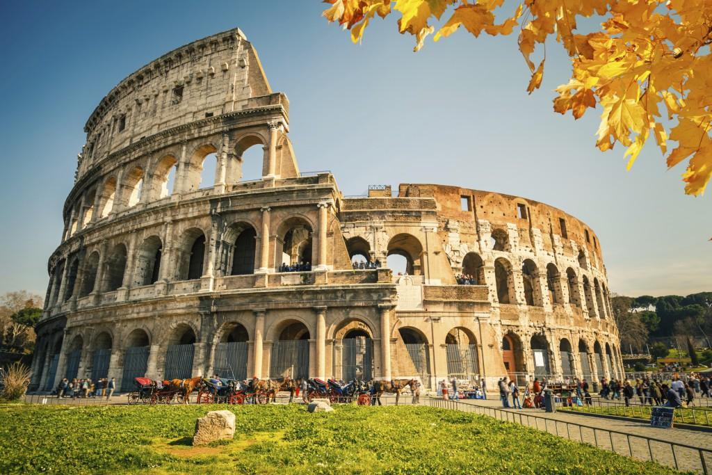 When in rome travelmanagers for Colosseo da colorare