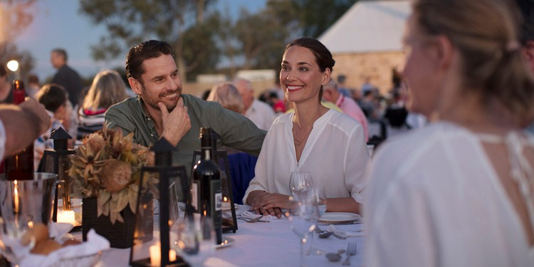 Telegraph Station dinner, The Ghan Expedition | TravelManagers Australia