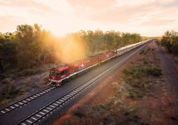 Stop by stop on The Ghan: Darwin - Alice Springs - Adelaide
