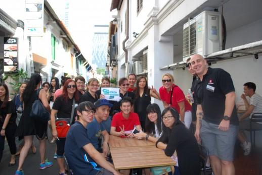 TravelManagers race around singapore!