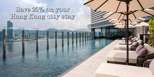 Save 35% on your Hong Kong stay