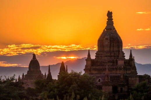 River cruising in South East Asia