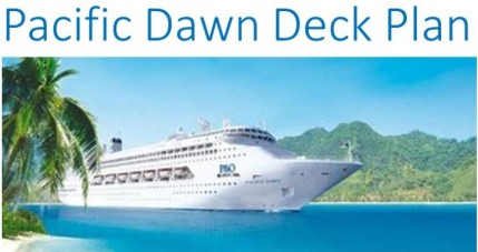 P&O Pacific Dawn Deck Plan