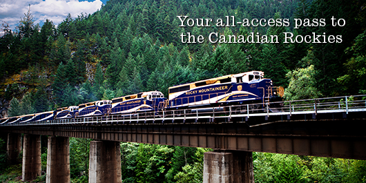 Your all-access pass to the Canadian Rockies