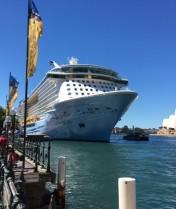 Docked at Sydney