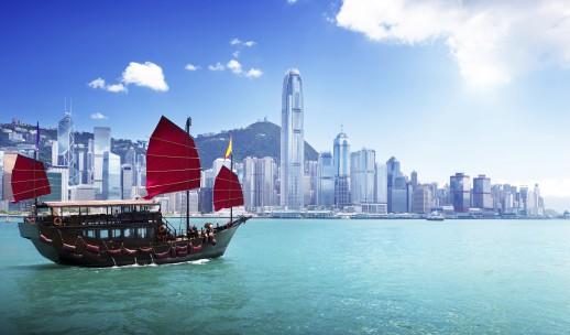 Flying visit to Hong Kong