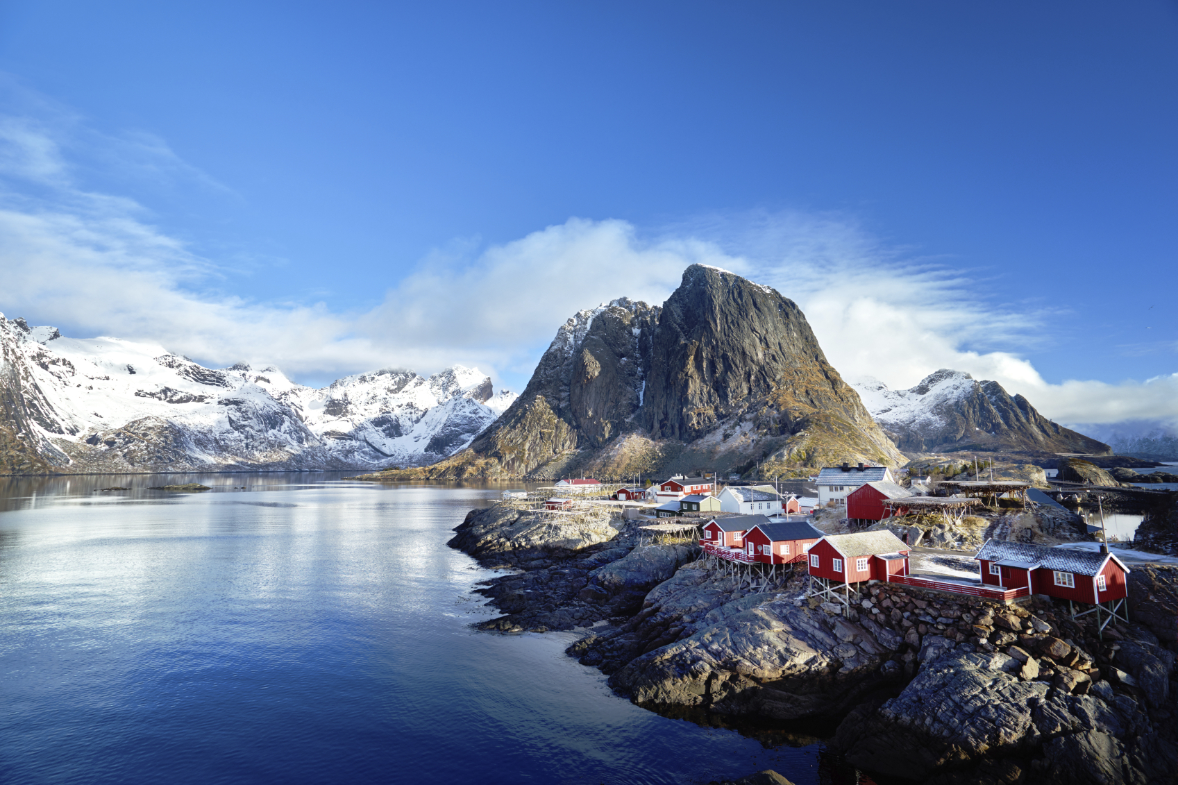The dramatic landscapes of Norway