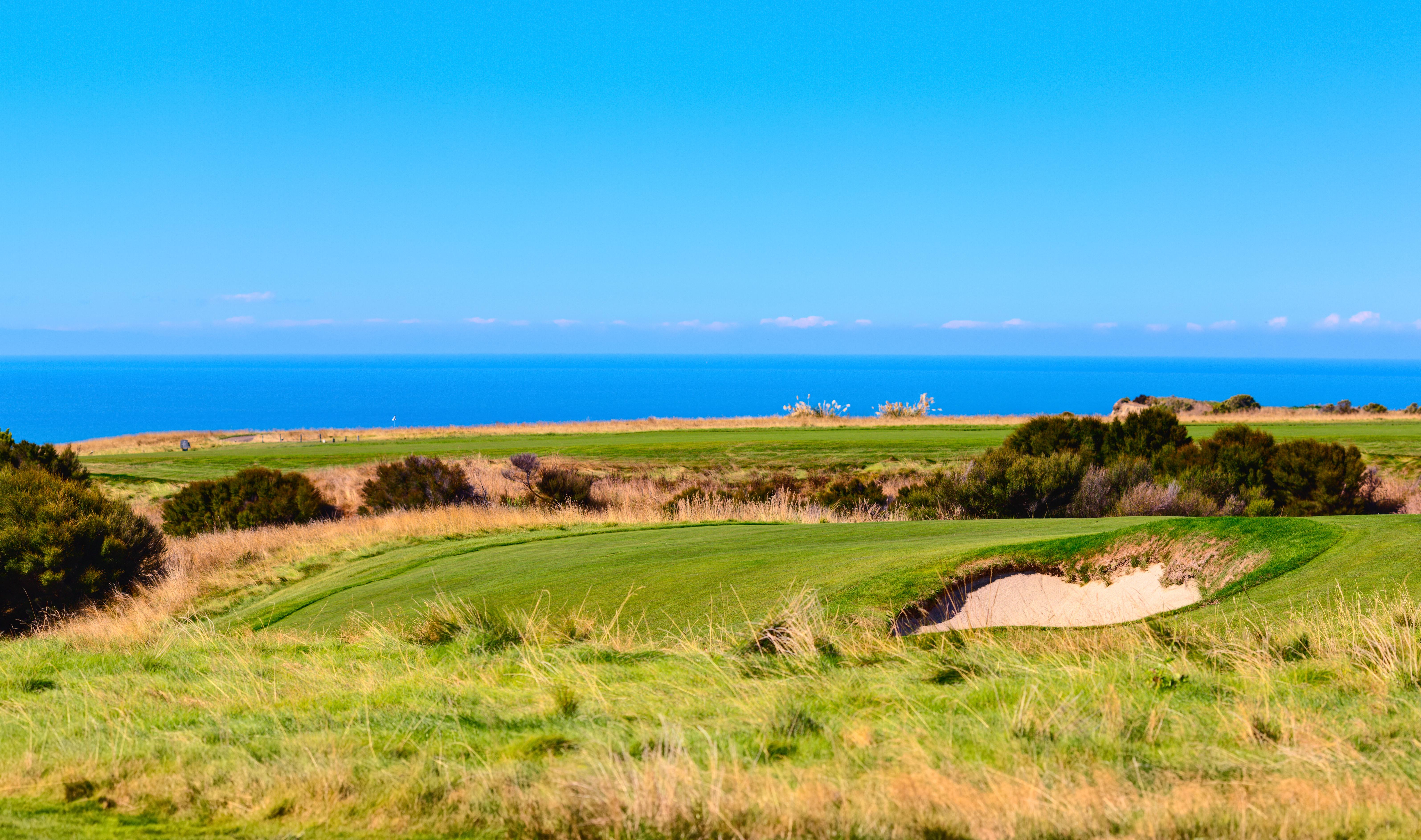 New Zealand Golfing Paradise