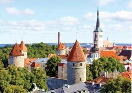Travel through the Baltic States