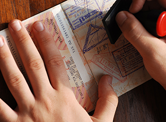 Visas for travelling