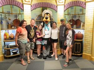 Disney's Character Breakfast, Goofy's Kitchen