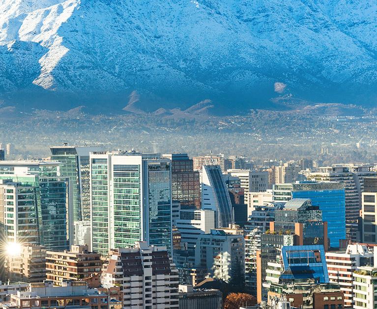 Return business class airfare to Santiago: