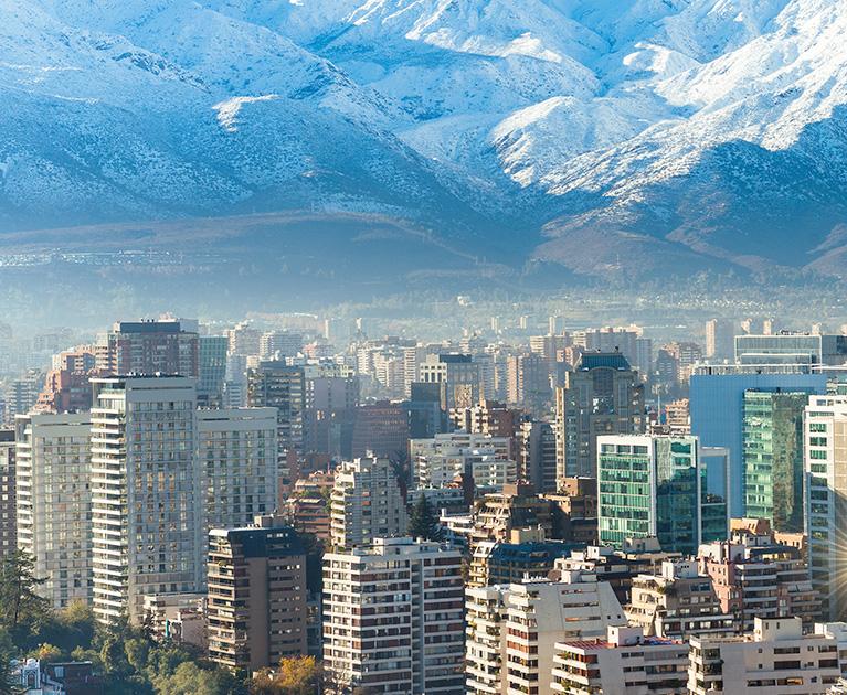 Return economy class airfare to Santiago: