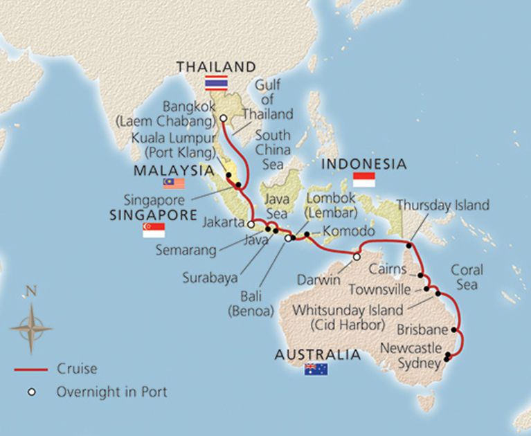 More about your cruise:
