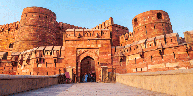 Places to visit in northern India: Agra Fort, Uttar Pradesh