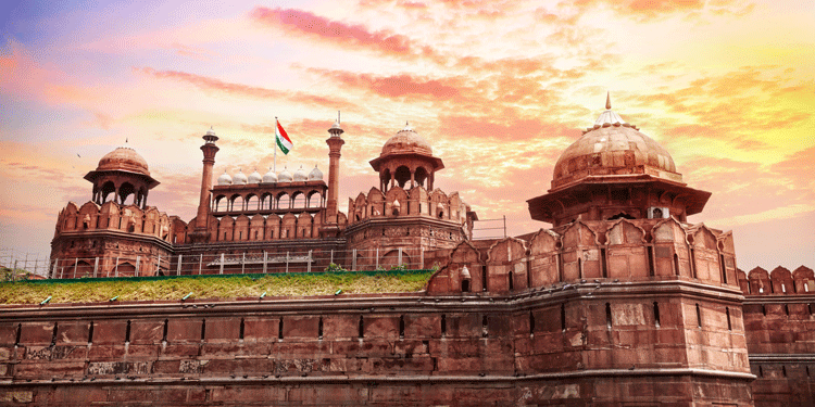 Places to visit in northern India: The Red Fort, Delhi