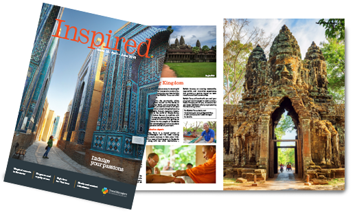 Be inspired, discover fascinating destinations and read our top travel tips