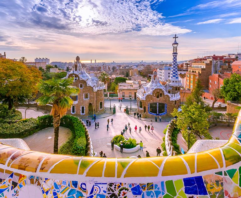 Return economy class to Barcelona
