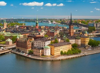 Return economy class to Stockholm:
