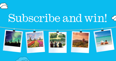 Subscribe and win with TravelManagers