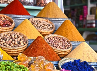Street market in Marrakech, Morocco | TravelManagers