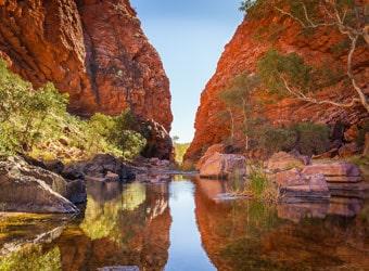 Simpson Gap, Alice Springs, Northern Territory, Australia