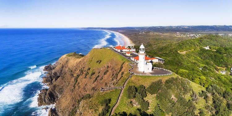 Places to Visit in NSW: Cape Byron, Byron Bay, NSW, Australia