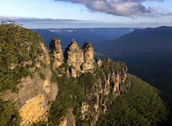 The Three Sisters, Katoomba, Blue Mounatins, New South Wales, Australia