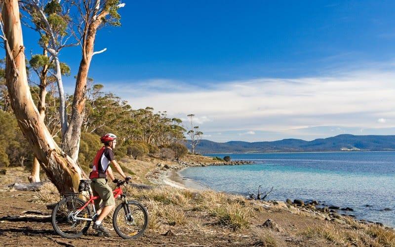 East Coast Tasmania, Self Guided Cycle Tour