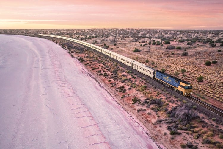 Stop by stop on the Indian Pacific Railway: Perth – Adelaide – Sydney