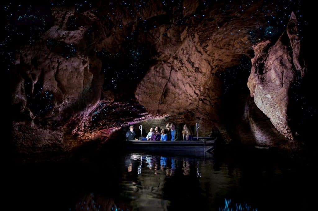 Lake Te Anau Glowworm Caves – Southland