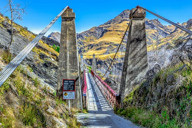Skippers Canyon Road New Zealand